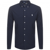 Ralph Lauren Featherweight Mesh Shirt Navy