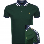 Product Image for Ralph Lauren Custom Slim Fit Polo Green
