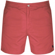 Product Image for Ralph Lauren Classic Fit Shorts Red