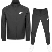 Nike Basic Tracksuit Black