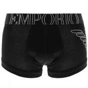 Emporio Armani Underwear Eagle Trunks Black