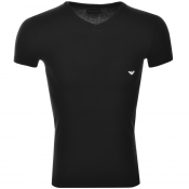 Product Image for Emporio Armani V Neck T Shirt Black