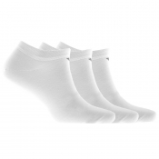 Emporio Armani 3 Pack Trainer Socks White