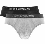 Product Image for Emporio Armani Underwear 2 Pack Boxer Briefs