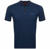 HUGO Direnze Polo T Shirt Navy