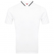 HUGO Divorno Polo T Shirt White