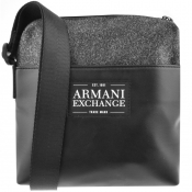 Product Image for Armani Exchange Logo Shoulder Bag Grey