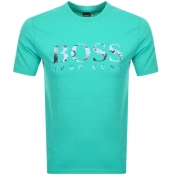BOSS Casual Tauch 1 T Shirt Green