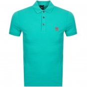 BOSS Casual Passenger Polo T Shirt Green