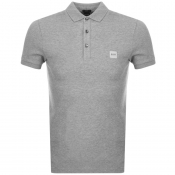 Product Image for BOSS Casual Passenger Polo T Shirt Grey
