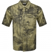 Product Image for G Star Raw Short Sleeved Service Shirt Green