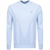 Product Image for G Star Raw Core Crew Neck Sweatshirt Blue