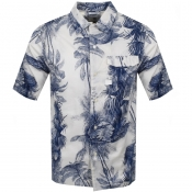 Product Image for G Star Raw Short Sleeved Service Shirt White