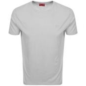 HUGO Dero 193 T Shirt Grey