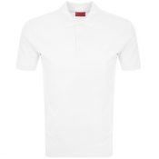 Product Image for HUGO Donos 193 Polo T Shirt White