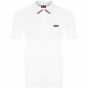 HUGO Dyler 193 Polo T Shirt White