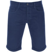 Product Image for G Star Raw 3301 Denim Shorts Blue