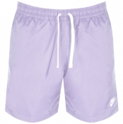 Product Image for Nike Flow Logo Swim Shorts Purple
