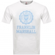 Product Image for Franklin Marshall Logo T Shirt Cream