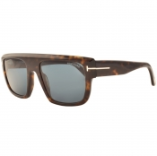 Tom Ford Alessio Sunglasses Brown
