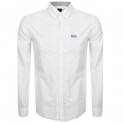 BOSS Athleisure Biado R Long Sleeved Shirt White