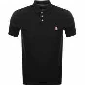 Product Image for Moose Knuckles Short Sleeved Pique Polo Black