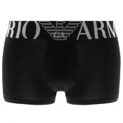 Emporio Armani Underwear Stretch Trunks Black