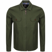 Product Image for Pretty Green Overshirt Jacket Khaki