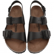 Birkenstock Milano Leather Sandals Black