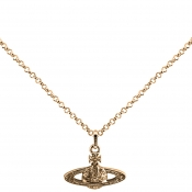 Product Image for Vivienne Westwood Mini Bas Relief Pendant Gold
