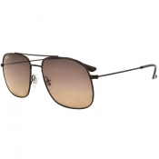Product Image for Ray Ban 3595 Aviator Sunglasses Black