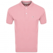 Tommy Jeans Regular Fit Polo T Shirt Pink