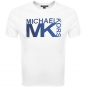 Product Image for Michael Kors Athletic Logo T Shirt White