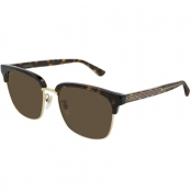 Gucci GG0382S Sunglasses Gold