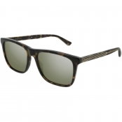 Gucci GG0381S 008 Sunglasses Brown