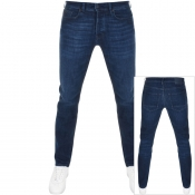 Product Image for BOSS Casual Taber Tapered Fit Jeans Navy