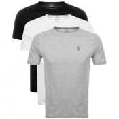 Product Image for Luke 1977  Johnny 3 Pack T Shirt Grey