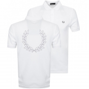 Fred Perry Laurel Wreath Polo T Shirt White