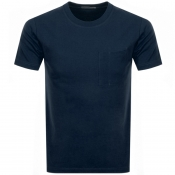 Nudie Jeans Kurt Worker T Shirt Navy