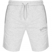 BOSS Athleisure Headlo Logo Shorts Grey