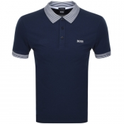 BOSS Athleisure Paule Polo T Shirt Navy