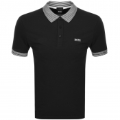Product Image for BOSS Athleisure Paule Polo T Shirt Black