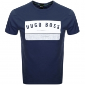 BOSS Athleisure Tee 1 T Shirt Navy