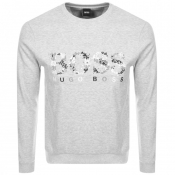 Product Image for BOSS Athleisure Salbo Iconic Sweatshirt Grey