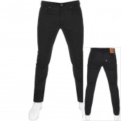 Levis 512 Slim Tapered Jeans Black