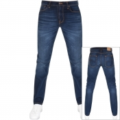 Nudie Jeans Lean Dean Slim Tapered Jeans Blue