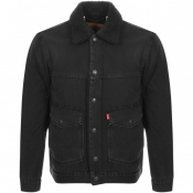Product Image for Levis Sherpa Trucker Jacket Black