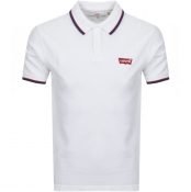 Levis Original Modern Polo T Shirt White