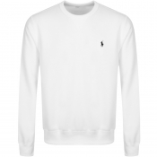 Ralph Lauren Crew Neck Sweatshirt White
