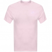 Product Image for Nike Crew Neck Club T Shirt Pink